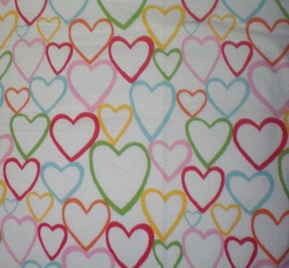 Ikea childrens vitaminer cotton fabric multi color hjarta for Cotton childrens fabric