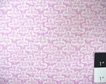Kaffe Fassett Clover Lilac Fabric 1 Yard