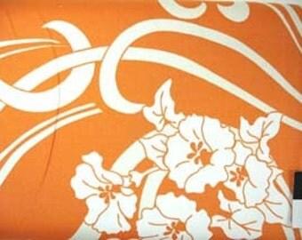 CLEARANCE Amy Butler August Fields Graceful Vine Orange Cotton HOME DECOR Fabric 1 Yard