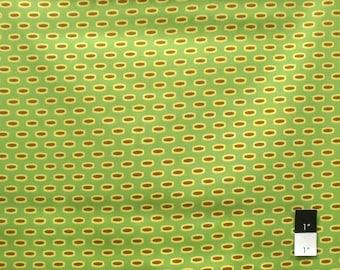 Heather Bailey HB11 Bijoux Mod Beads Green Cotton Fabric 1 Yard