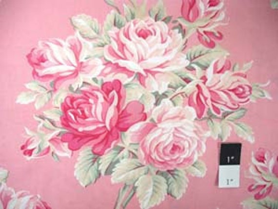 Tanya Whelan TW04 Ava Rose Large Roses Rose FAT QUARTER Cotton Fabric