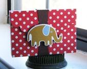 Polka Dots and Elephants reserved for HazelHoney