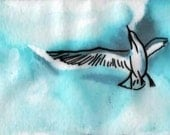Fly away -  ACEO
