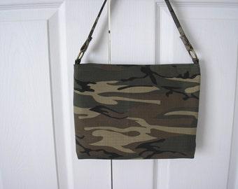 Glenda Camo Bag