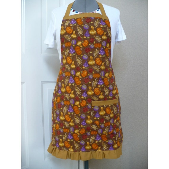 Autumn Thanksgiving Debbie Mumm Fabric Apron