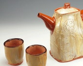 Terracotta Tea set