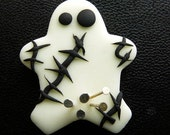 Voodoo Doll Magnet  With Pins in a Compromising Place