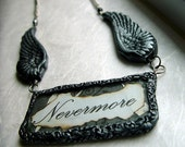 Custom Order for madamminna Winged Poe Necklace