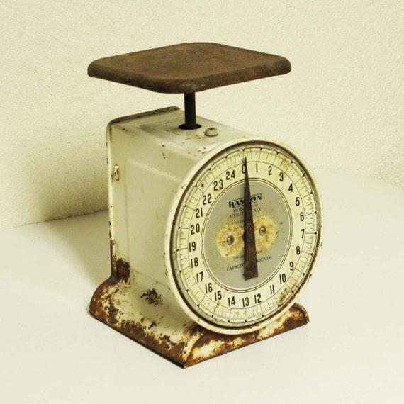Vintage Kitchen Scales: Vintage Kitchen Scale Utility Scale Hanson Model 2000 25