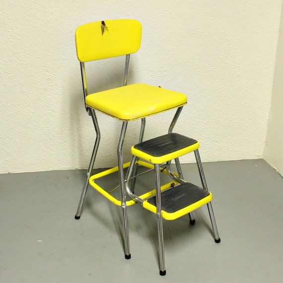 vintage cosco stool step stool kitchen stool chair