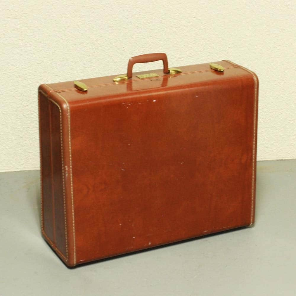 Vintage suitcase luggage samsonite streamlite large - Vintage suitcase ...