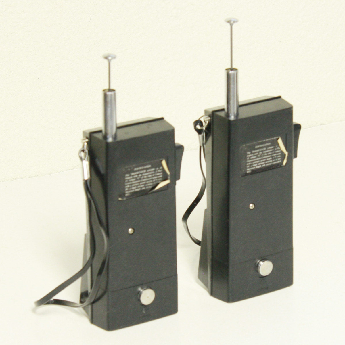 Vintage Walkie Talkies Ranger Solid State Transceiver