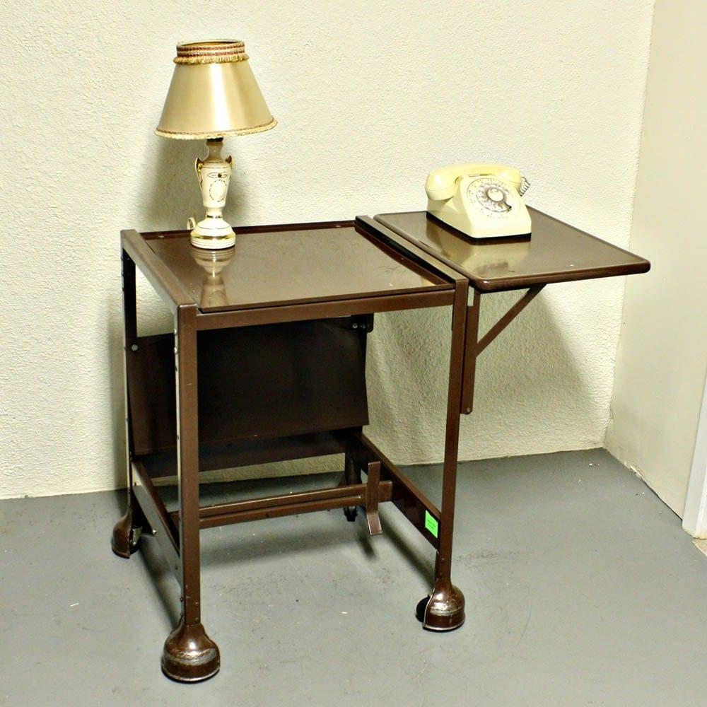 Vintage Typewriter Table Stand Typewriter Stand