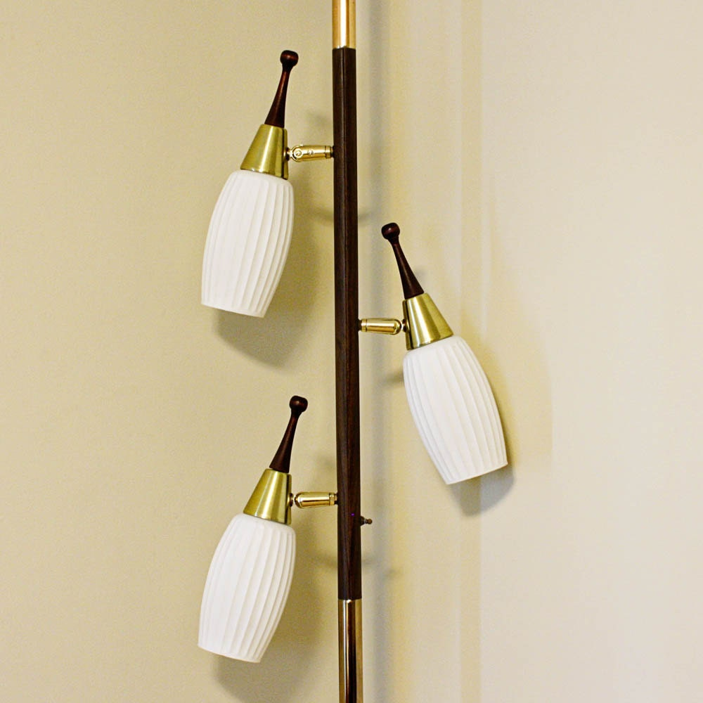 vintage pole lamp tension lamp floor to ceiling lamp With floor to ceiling retro lamp