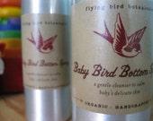 0231 4oz baby bird bottom spray....natural, organic skin care for baby