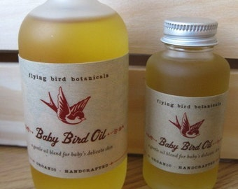 0234 1.7 baby bird oil...natural, organic skin care for baby