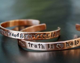 SET-Two UU Covenant Bracelets