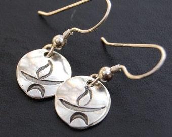 FAST* Unitarian Universalist Chalice Earrings