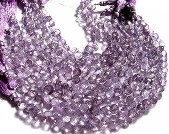 7 Inches Strand - Pink Mystic Quartz Faceted Onions Briolettes Size 7mm Stunning Quality Wholesale price