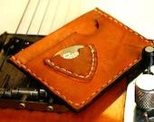 Slim Mens wallet Small pouch Mini bag Guitar Pick Holder Card case / card holder Man Man Dad Father Him Valentine Gift