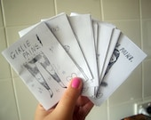 NEWEST mini comic pack - 8 different mini comics by Girlie Pains / Mel Stringer (issues 9 - 16)