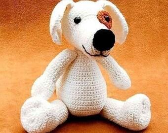 dog Doggy, crochet PDF Pattern, amigurumi, tutorial animal animal pet ebook by Katja Heinlein crocheting tutorial digital file stuff toy