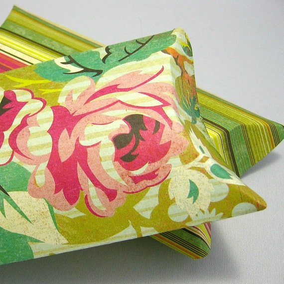 2 larges pillow boxes with tags  - Hello Luscious -