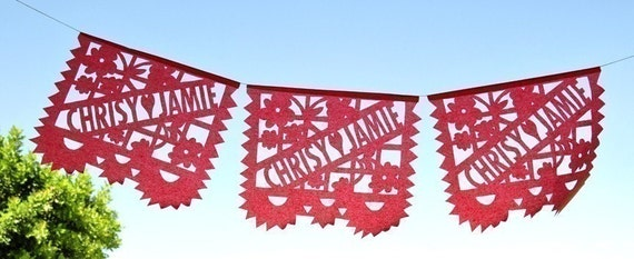 RUSH Reserved for coolbabycool . Custom Papel Picado bundle