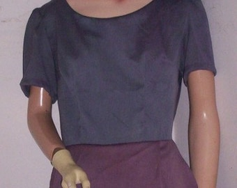 Hermans ECO Us Grown & made  hand dyed Dress with beads M
