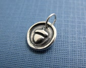 hope acorn sterling silver charm