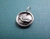 inner flow fine silver fish charm