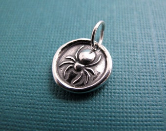 spider woman sterling silver charm