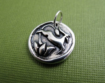jana gazelle sterling silver charm