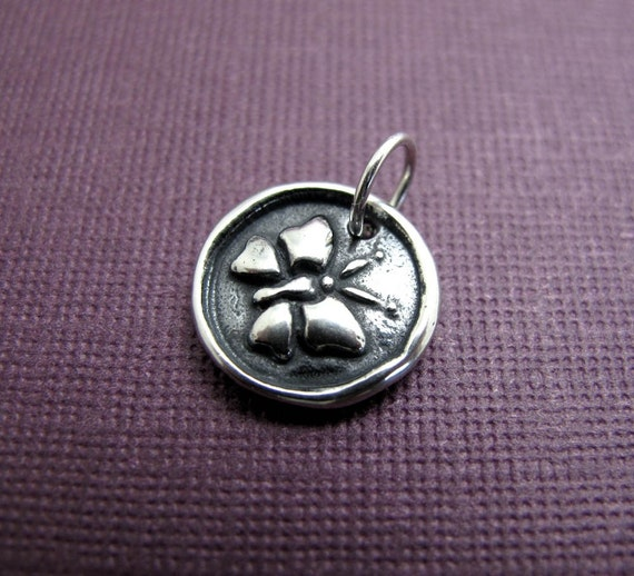 journey butterfly sterling silver charm