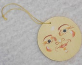 Moon Mama's Handpainted Man in the Moon Ornaments