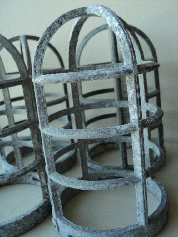 stonco industrial light bulb metal cage lot 4. Black Bedroom Furniture Sets. Home Design Ideas