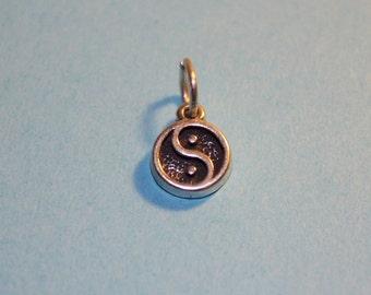 Sterling Silver Ying Yang Mini Charm