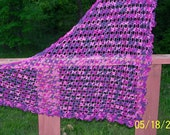 Flower Trellis Shawl Pattern - PDF