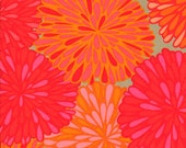 SALE - Bloom/Mandarin- NEW from the Wrenly Collection by Valori Wells - One Half Yard