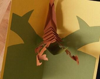 Kirigami Scorpio (Scorpion) Pop-up Card, Make Yourself