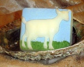 Handmade Goat Milk Soap with Tea Tree Oil, Lavender Dreams