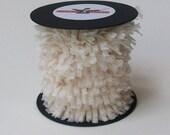 Handmade Crepe Fringe - Ivory