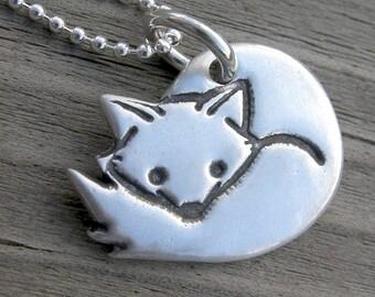 Nikoart Arctic Fox Pendant
