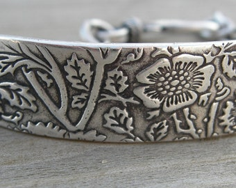 Super Secret ID Bracelet Personalized Made To Order Sterling