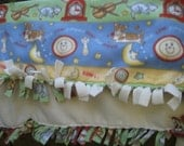 Nursery Rhyme Fleece Blanket