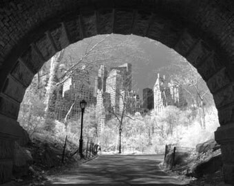 Central Park Tunnel in New York - 8x12 Fine Art Infrared Photograph