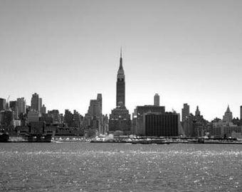 New York Slyline -  8x12 Fine Art Infrared Photograph