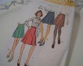 Vintage Pleated Skirt Pattern