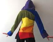 Rainbow Fleece Hoodie