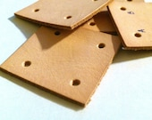 Leather Card Weaving Cards - 1 3/4 inches square - 25 cards